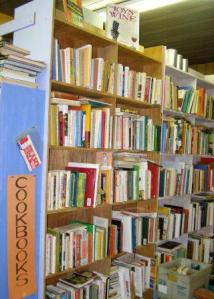 Second-hand cookbooks