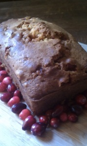 Pumpkin bread recycled