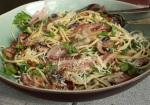 Mushroom bacon pasta