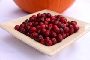 Minimized fresh cranberries