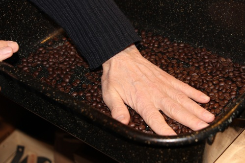 minimized cooling the beans