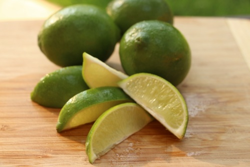 Lime wedges minimized