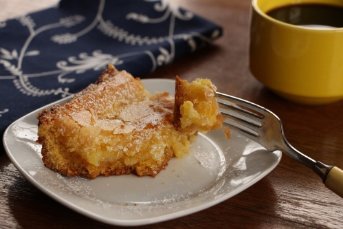 Minimized gooey butter cake taste
